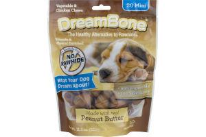 DreamBone Vegetable & Chicken Chews Mini - 20 CT