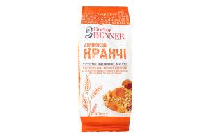 Мюслі запечені Кранчі абрикосові Doctor Benner м/у 375г