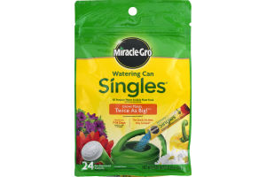 Miracle-Gro Watering Can Singles Water Soluble Plant Food - 24 CT