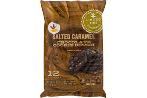 Ahold Chocolate Cookie Dough Salted Caramel - 12 CT