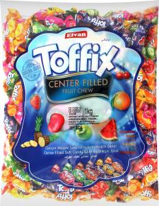 Конфеты жевательные Toffix Fruit Elvan м/у 1кг
