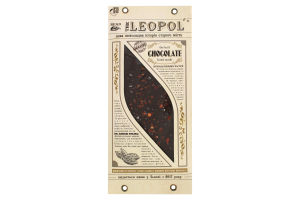 Шоколад чорний гіркий Leopol' м/у 95г