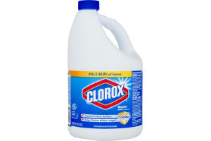 Clorox Regular Bleach, 121 Ounces