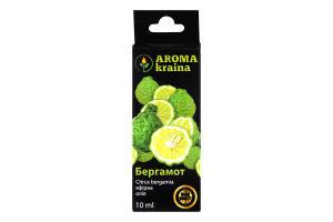 Олія ефірна Aroma kraina Бергамот 10мл