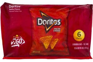 Doritos Nacho Cheese - 6 PK