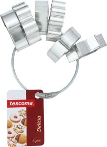 Формочки Tescoma на кільці Delicia 6шт 631380