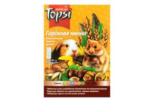 Корм для грызунов Ореховое меню Topsi к/у 510г