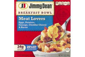 Jimmy Dean Breakfast Bowl Meat Lovers