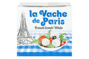 Сыр 55% рассольный French Combi White La Vache de Paris т/п 500г