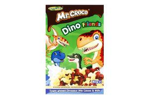 Сніданок сухий з какао та молоком Динозаврики Мікс Mr. Croco к/у 80г