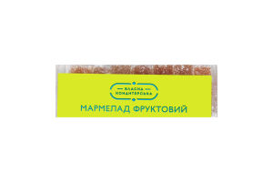 Мармелад фруктовый