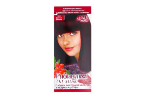 Маска для волос тонирующая Рябина TON oil mask Дикая вишня №034 Acme Color 30мл