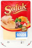 Сир 48% нарізний Gouda Safak лоток 150г