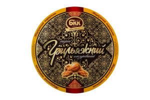Торт БКК Грильяж глазурь нарезанный порциями 0,850 кг