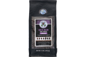 Unique Coffee Roasters Costa Rican Royal Tarrazu Whole Bean Coffee