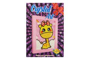 Набір для творчості для дітей від 8років №103 Crystal Art Strateg 1шт
