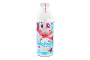Молоко 3.2% для детей от 9мес витаминизированное Малютка Злагода с/бут 200г