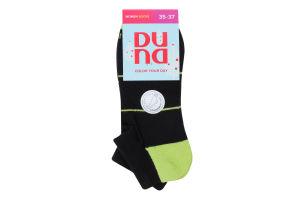 Шкарпетки жіночі Duna №3098 21-23 чорний