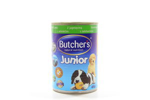 Корм Butcher's Junior шматочки ягнятина 400г