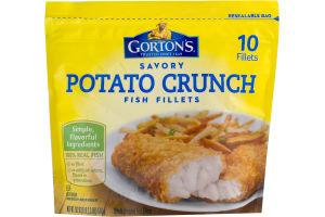 Gorton's Savory Potato Crunch Fish Fillets - 10 CT