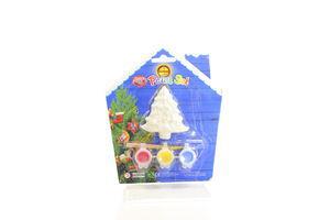 Набір для дитячої творчості Маг 2000 кераміка ялинка 3 краски 022564