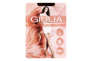 Колготки жіночі Giulia Like 40den 2-S cappuccino