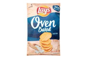 Чіпси картопляні запечені з сіллю Lay's м/у 125г