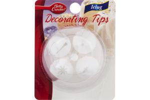 Betty Crocker Icing Decorating Tips