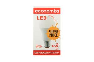 Лампа светодиодная Economka LED A60 12W E27 SP 4200K 1шт