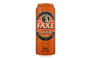 Пиво Faxe Amber з/б 0,5л х24