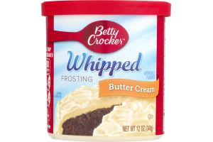 Betty Crocker Whipped Frosting Butter Cream