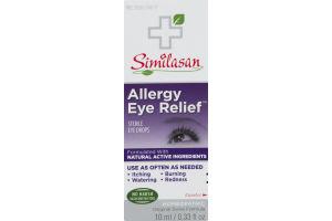 Similasin Allergy Eye Relief Sterile Eye Drops