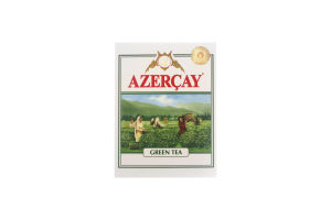 Чай зеленый листовой Azercay к/у 100г