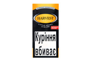 "Сигари HARVEST LC SWEET VANILLA SPECIAL FILTER""10"