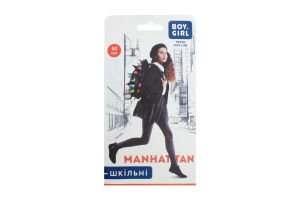 Колготи дитячі Boy&Girl Manhattan 50den 116-122 brown