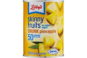 Libby's Skinny Fruits Chunk Pineapple