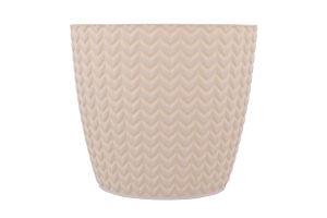Горшок для цветов кремовый №DWH190 Wheaty Prosperplast 1шт