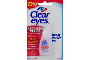 Clear Eyes Handy Pocket Pal Redness Relief Eye Drops