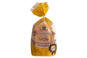 Хлеб формовой Орельский пшеничный Салтівський хлібзавод м/у 0.55кг