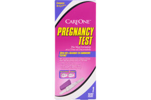 CareOne Pregnancy Test