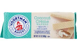 Voortman Bakery Wafers Coconut Creme
