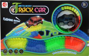 Машинка для дітей від 3років з гоночним треком №7203 72 toys 1шт