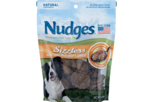 Nudges Wholesome Dog Treats Sizzlers
