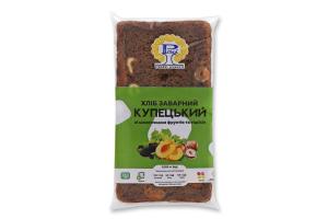 Хліб заварний нарізний Купецький Рома м/у 0.285кг