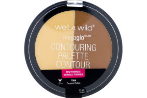 Wet n Wild Megaglo Contouring Palette Contour 750A Caramel Toffee
