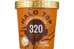 Halo Top Dairy-Free Frozen Dessert Peanut Butter Cup