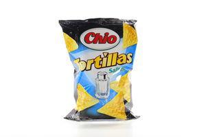 Кукурузные чипсы соленые Tortillas Chio м/у 125г