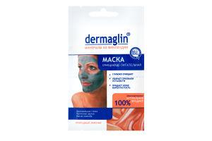 Маска для лица очищающе-питательная Dermaglin 20г