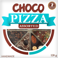 Шоколад асорті Сhoco Pizza Shoud'e к/у 120г