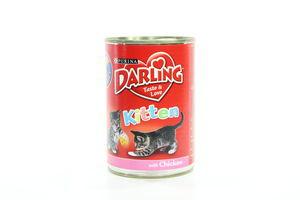 Корм д/кошенят Darling Kitten 400г